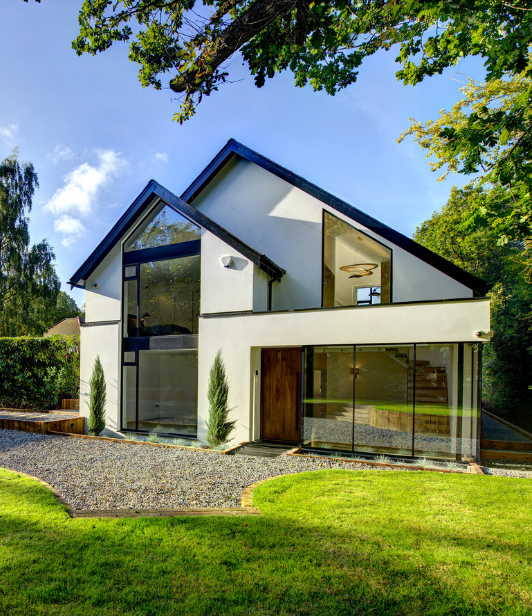 modern house in buckinghamshire