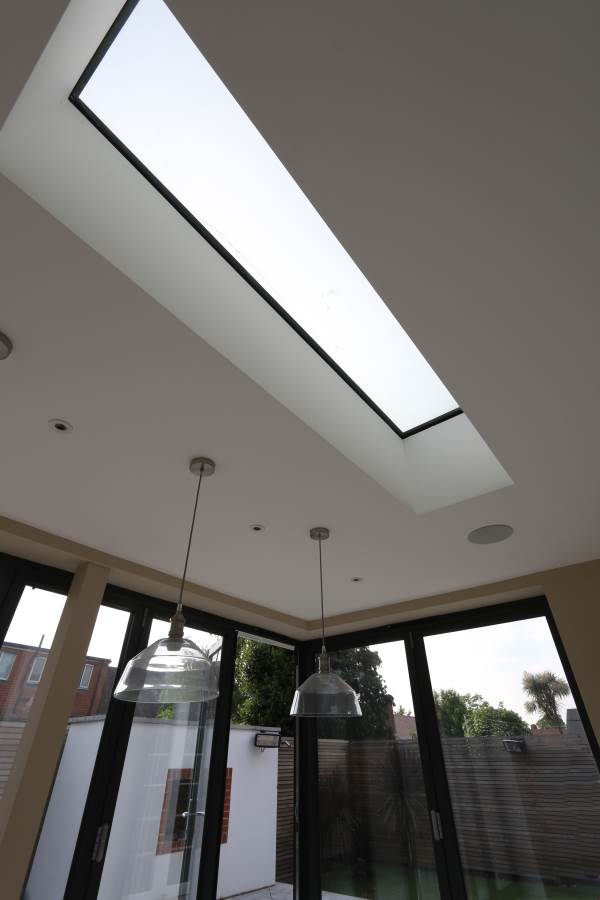 frameless rooflight