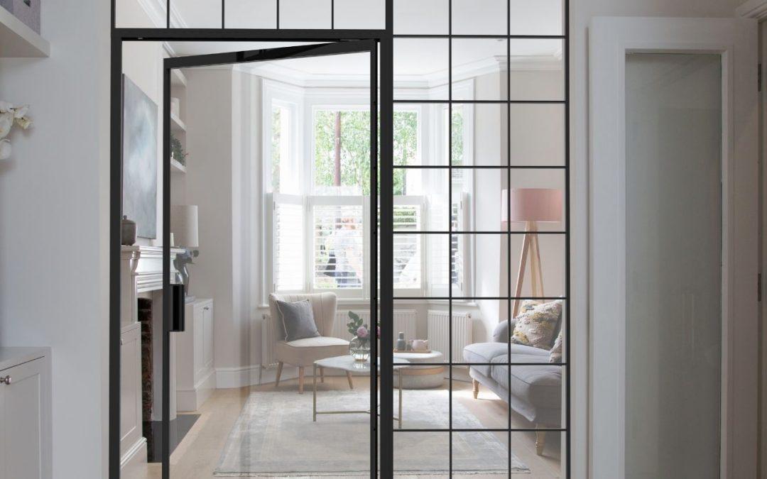 Why Choose Aluminium Framed Internal Doors?