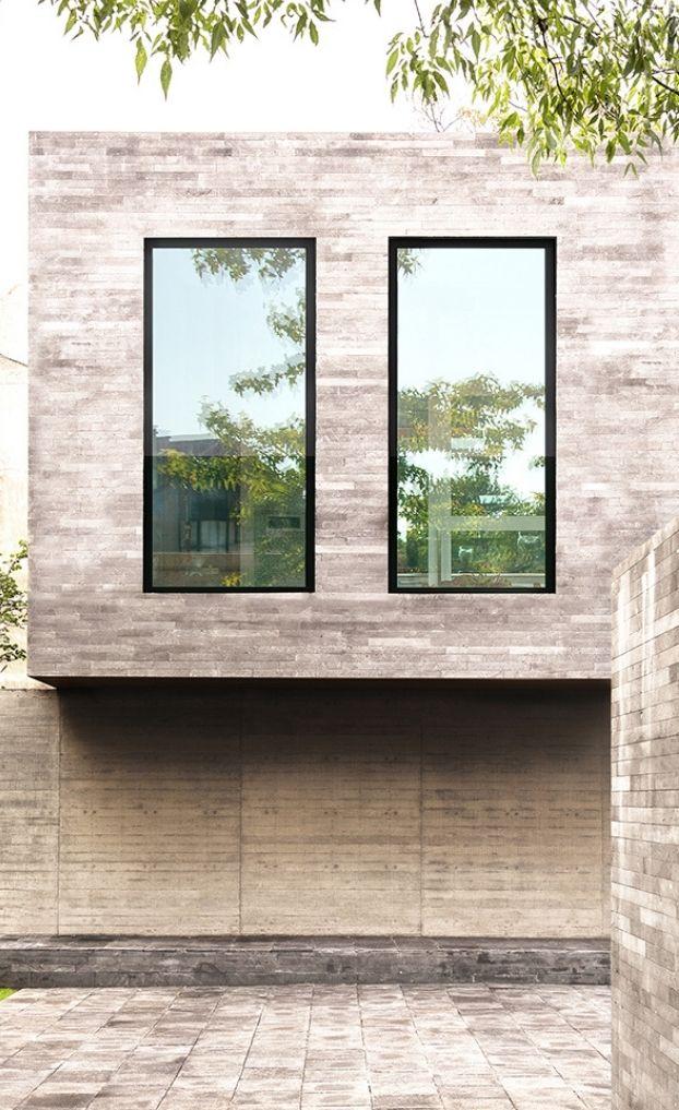 Sieger 70 Aluminium window, exterior glazing