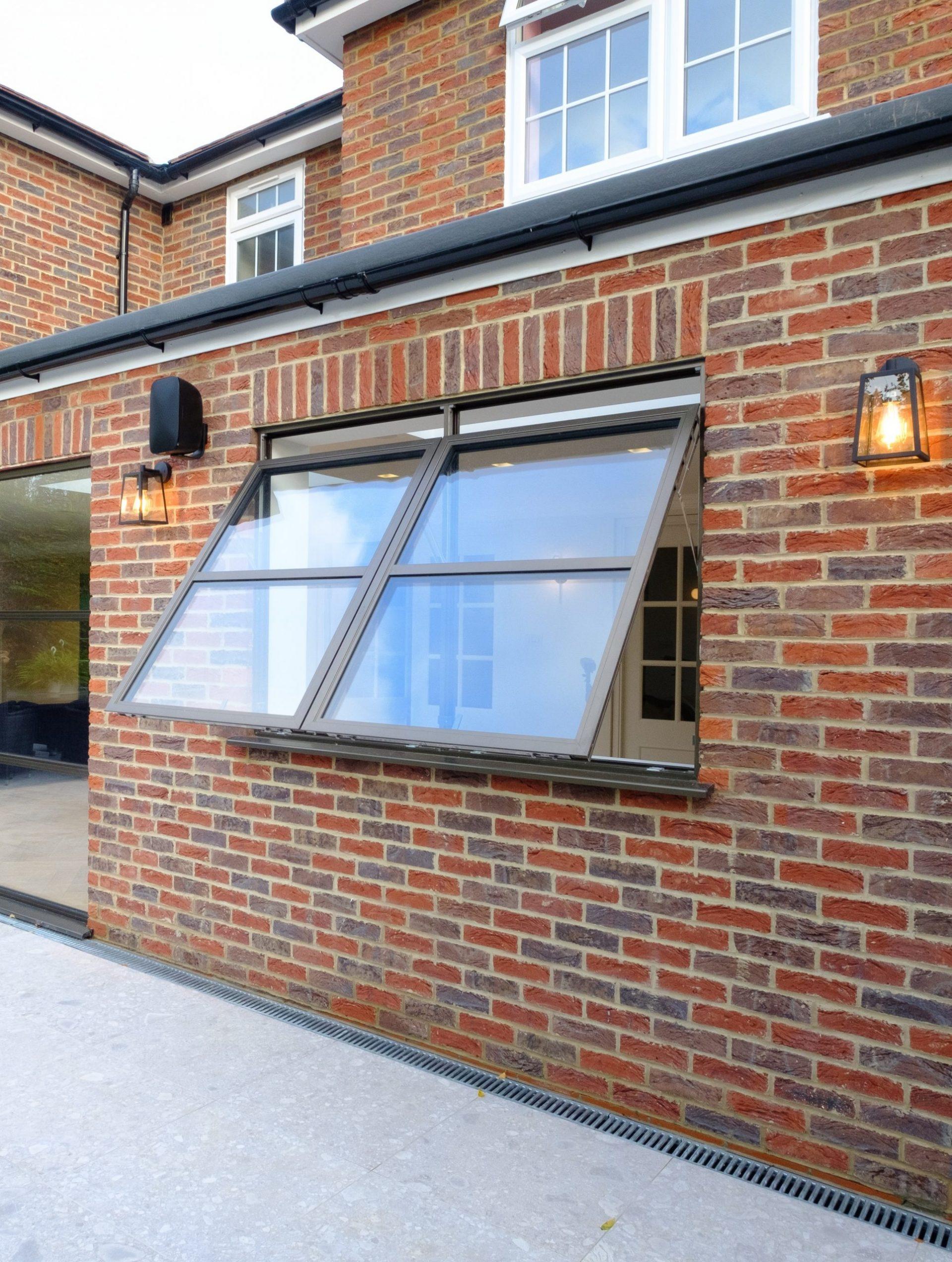 Sieger Legacy Aluminium window, exterior glazing