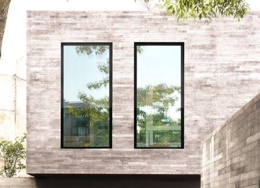 oversized slimline aluminium windows