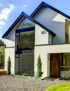 aluminium windows with casement windows and fixed windows
