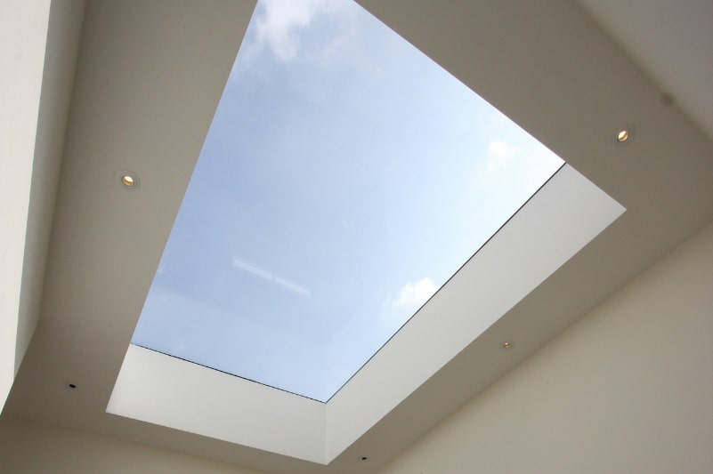 sieger thermally broken rooflight
