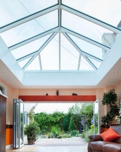 sieger lantern rooflight with pvb interlayer on inner pane