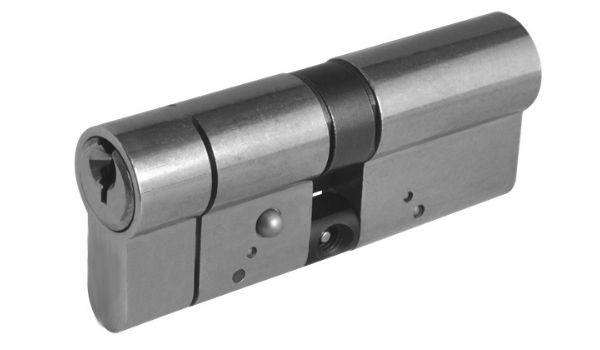 euro cylinder key lock used by sieger as a lock for external aluminium framed doors