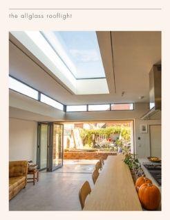 sieger allglass flat fixed aluminium rooflight product data sheet cover